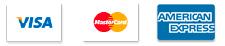 Accepts Visa & Mastercard